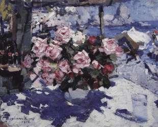 Розы — Константин Коровин