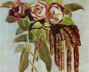 Розы и Сережки — Виктор Борисов-Мусатов