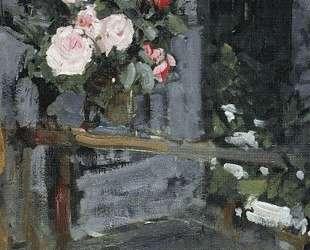 Розы. Вечер — Константин Коровин