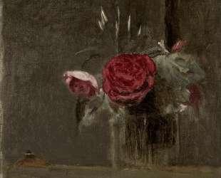 Розы в стакане — Камиль Коро
