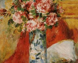 Roses in a Vase — Пьер Огюст Ренуар