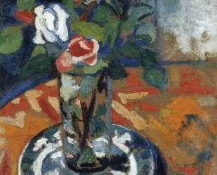 Roses in a Vase — Сюзанна Валадон