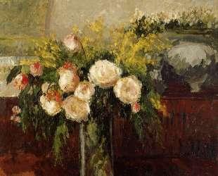 Roses of Nice — Камиль Писсарро