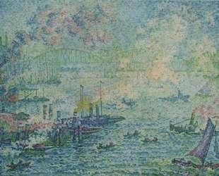 Rotterdam Harbour — Поль Синьяк