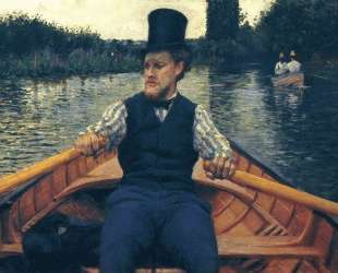 Rower in a Top Hat — Гюстав Кайботт