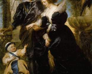 Rubens Rubens his wife Helena Fourment and their son Peter Paul — Питер Пауль Рубенс