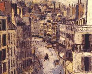 Rue Lepic — Морис Утрилло