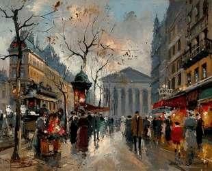Rue Tronchet la Madeleine — Антуан Бланшар