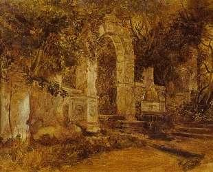 Руины в парке — Карл Брюллов