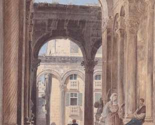 Ruins of Diocletian at Spalato — Рудольф фон Альт
