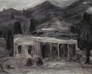 Rural landscape — Мартирос Сарьян