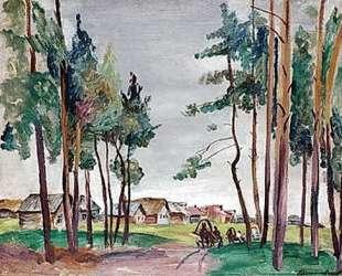 Сельский пейзаж — Пётр Кончаловский