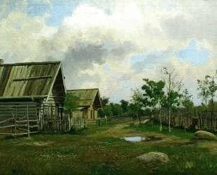 Сельский пейзаж — Давид Бурлюк