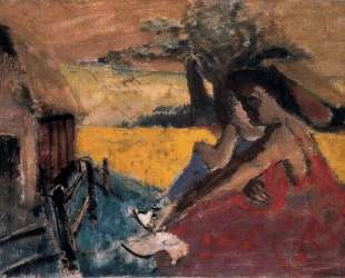 Rural Scene — Адольф Жозеф Тома Монтичелли