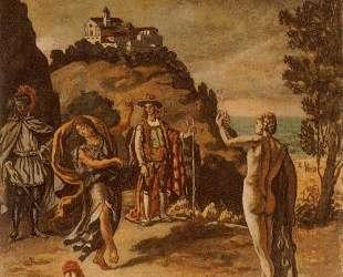 Сельские сцены с пейзажем — Джорджо де Кирико