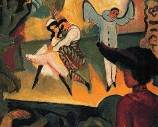 Russisches Ballett (I) — Август Маке