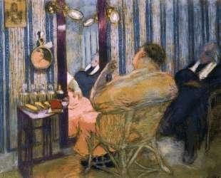 Sacha Guitry in His Dressing Room — Эдуар Вюйар