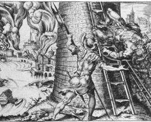 Sack of Rome — Мартен ван Хемскерк