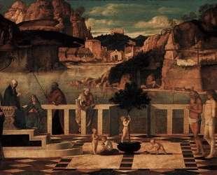 Священная аллегория — Джованни Беллини