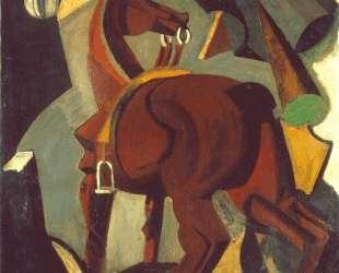 Saddled horse — Марио Сирони