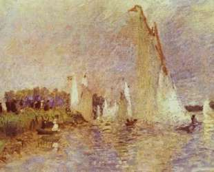 Sailboats at Argenteuil — Пьер Огюст Ренуар