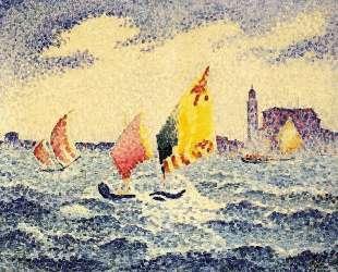 Sailboats near Chicago — Анри Эдмон Кросс