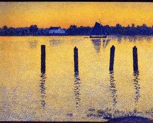Sailboats on the River Scheldt — Тео ван Рейссельберге