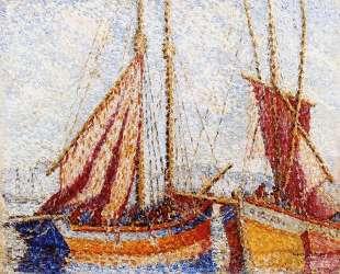Sailboats — Анри Эдмон Кросс