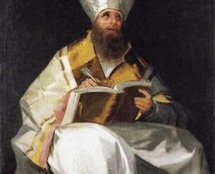 Saint Ambrose — Франсиско де Гойя