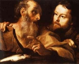 Св. Андрей и Св. Фома — Джан Лоренцо Бернини