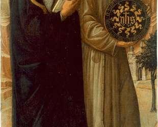 Св. Антоний Великий и Св. Бернард Сиенский — Якопо Беллини