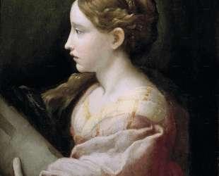 Saint Barbara — Пармиджанино