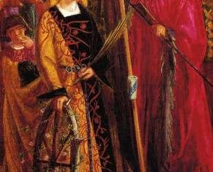 Saint Catherine — Данте Габриэль Россетти