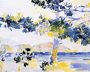 Saint-Clair Landscape — Анри Эдмон Кросс