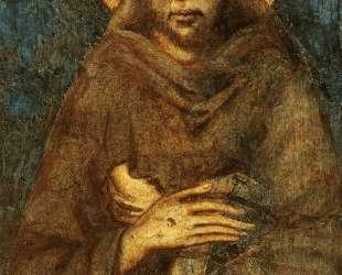 Святой Франциск Ассизский (деталь) — Чимабуэ