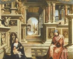 Saint Luke painting the Virgin — Мабюз