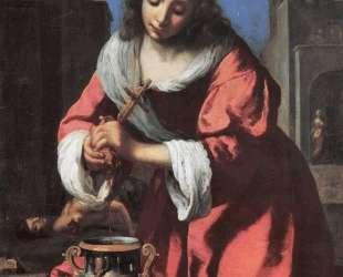 Saint Praxedis — Ян Вермеер