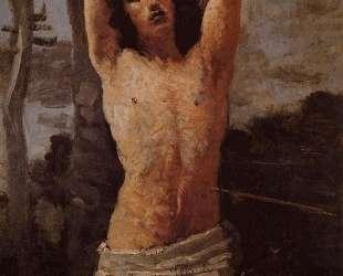 Святой Себастьян — Камиль Коро
