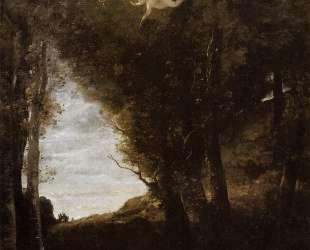 Святой Себастьян в пейзаже — Камиль Коро