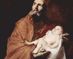 Saint Simeon with the Christ child — Хосе де Рибера