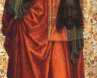 Saint Veronica Displaying the Sudarium — Робер Кампен