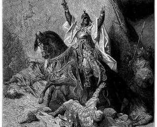 Саладин — Гюстав Доре