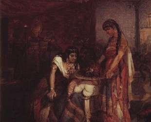 Саломея приносит голову Иоанна Крестителя своей матери Иродиаде — Василий Суриков