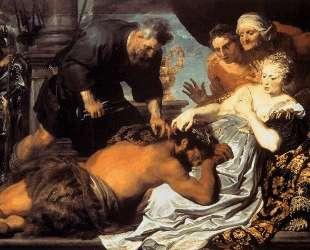 Самсон и Далила — Антонис ван Дейк