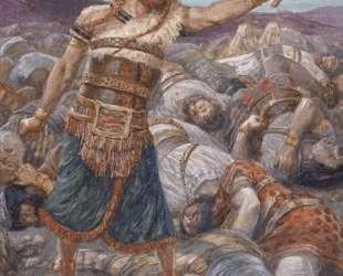 Samson Slays a Thousand Men — Джеймс Тиссо