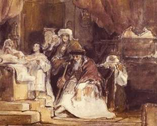 Samuel in the Temple — Дейвид Уилки