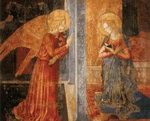 San Domenico Annunciation — Беноццо Гоццоли