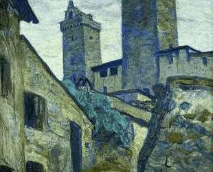 San Gimignano — Николай Рерих