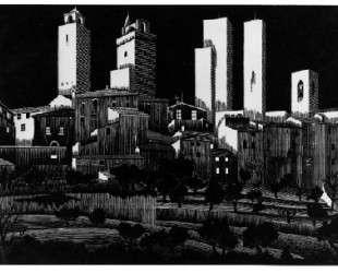 San Gimignano — Мауриц Корнелис Эшер