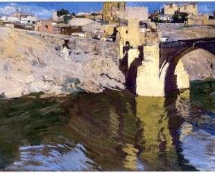 San Martin Bridge at Toledo — Хоакин Соролья